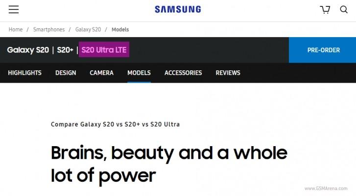 Oberflächen des Samsung Galaxy S20 Ultra LTE