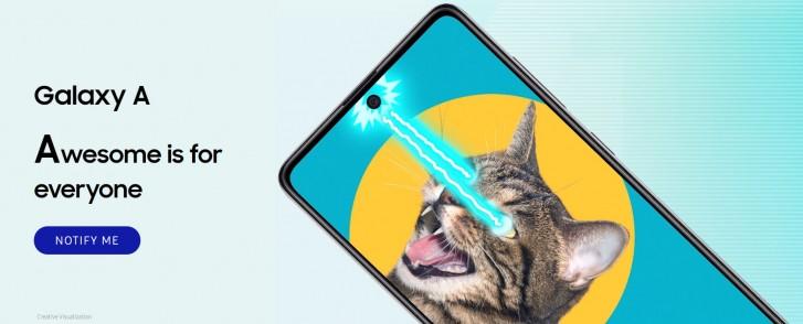 Offizielle Teaser-Seite für Samsung Galaxy A51 und A71 geht in Indien online