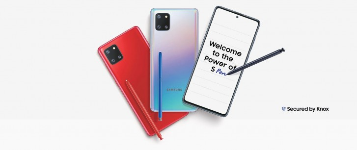 Samsung Galaxy Note10 Lite startet am 21. Januar ...