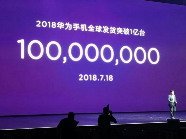 Huawei hat bereits im Jahr 2018 100 Millionen Geräte verkauft