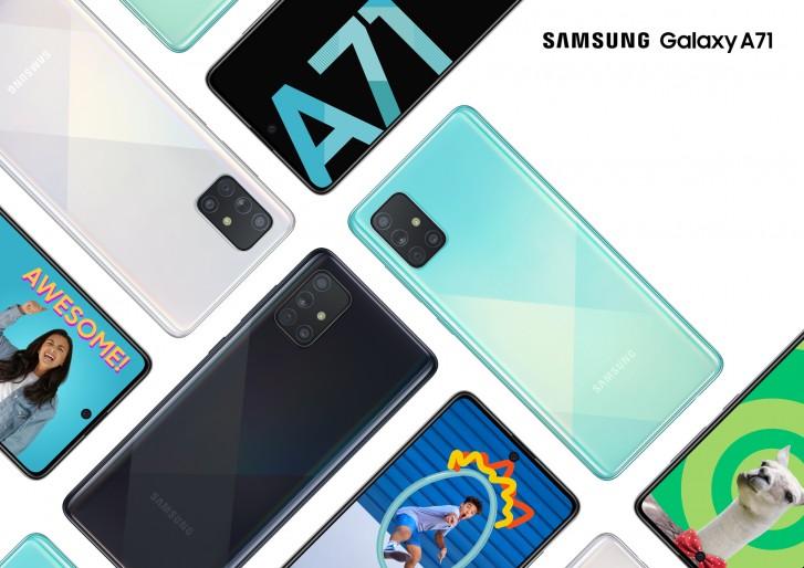 Das Samsung Galaxy A71 5G fliegt ebenfalls in die USA