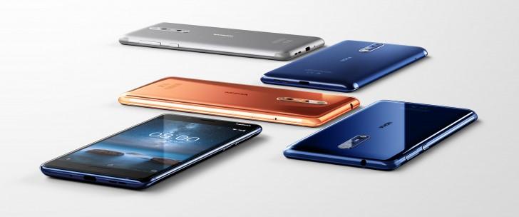 Nokia 8 hat angekündigt: Die Dual-Kamera verfügt über Zeiss-Objektiv und OZO-Audio