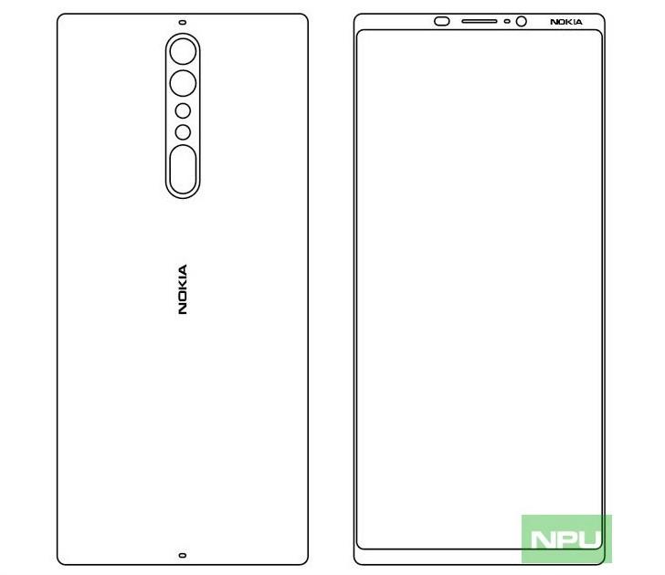 Nokia 9 mit größerem Bildschirm als das Nokia 8 scheinbar bestätigt durch Unternehmen Wiederholungen