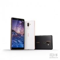 Weitere Nokia 7 Plus-Bilder sind undicht und zeigen die Farben Schwarz und Weiß nebeneinander