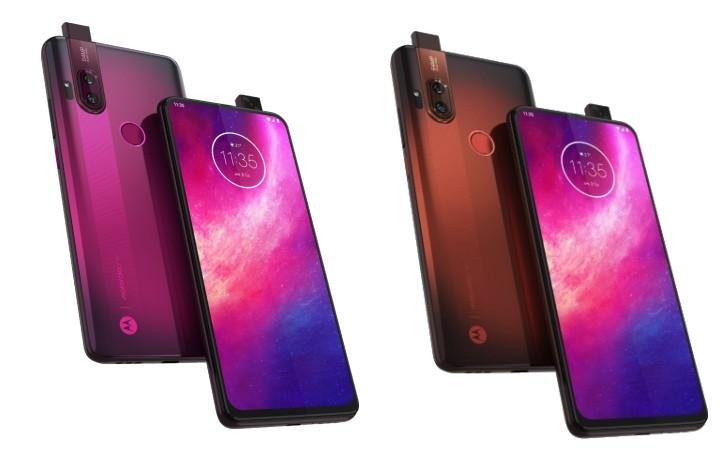 Motorola One Hyper wird vor dem Start in den Pressebildern angezeigt