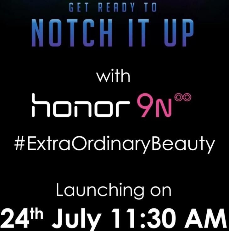 Honor 9N bereit, in Indien als Flipkart exklusiv zu starten