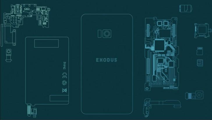 HTC Exodus ist ein Blockchain-Smartphone, das bald kommt
