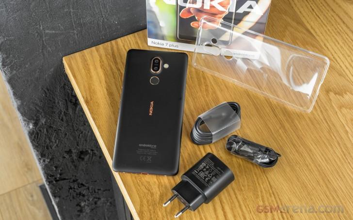 Nokia 7 plus auf dem Markt