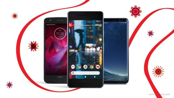 Verizon bietet bis zu 50% Rabatt auf Pixel 2, Galaxy S8 und Moto Z2 Force für Black Friday
