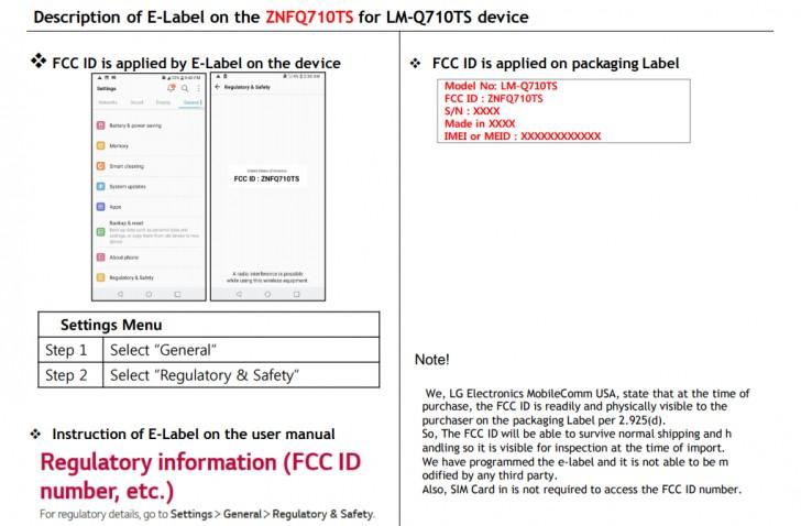 LG Q7 erhält FCC-Zertifizierung