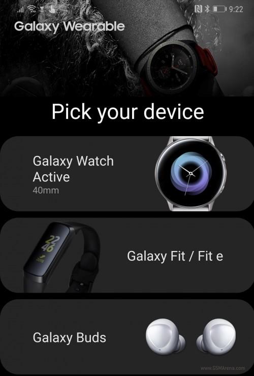 Samsungs neue Wearables fallen in der eigenen App von Samsung aus