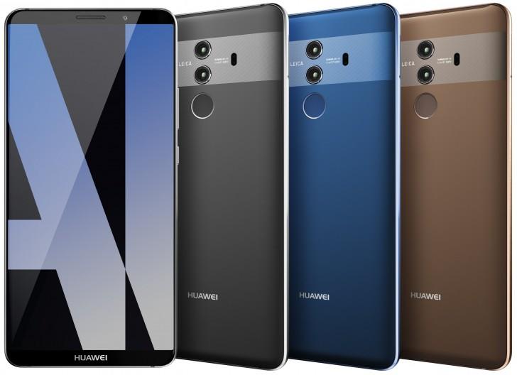 Huawei Mate 10: Versionen
