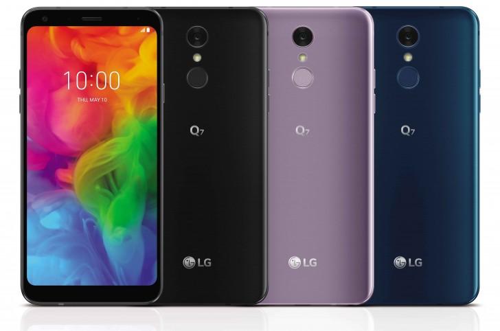 LG Q7 Trio wurde mit DTS-Sound und optionalen Quad-DACs vorgestellt