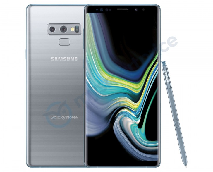 Silber Samsung Galaxy Note9 wird bald in den USA starten