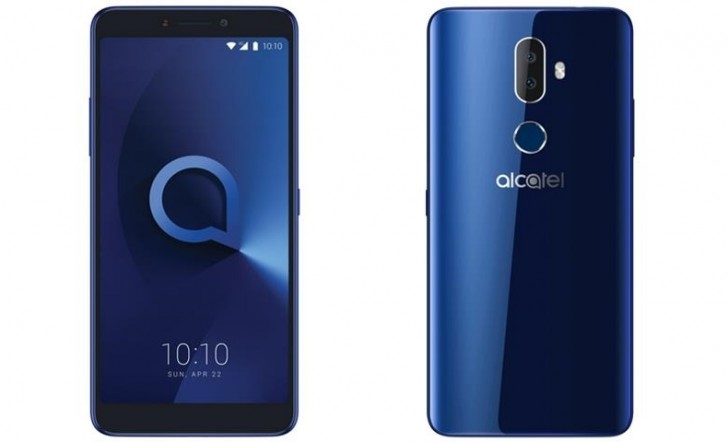 alcatel 3V specs und press rendert leck