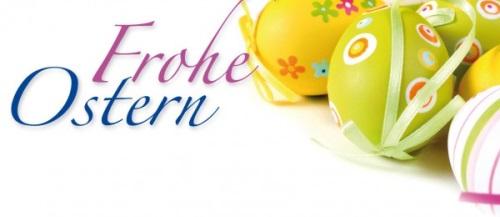 Wir wünschen Euch ruhige, glückliche und friedliche Osterfeiertage.