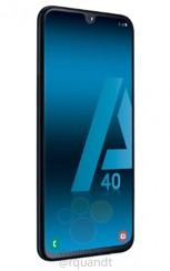 Das Samsung Galaxy A40 glänzt in durchgesickerten Pressen