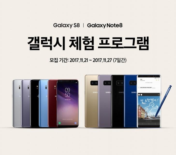 Samsungs Upgrade auf Galaxy-Programm lässt iPhone-Nutzer den Note8 ausprobieren