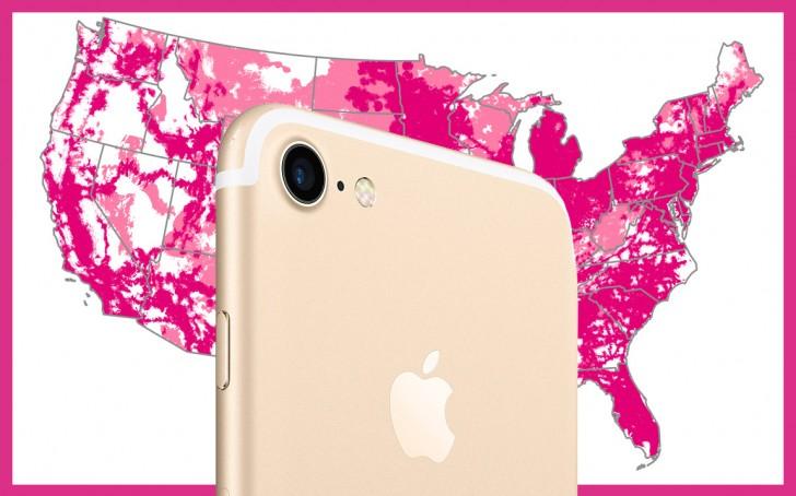 256GB iPhone 7 für 600 $ bei T-Mobile
