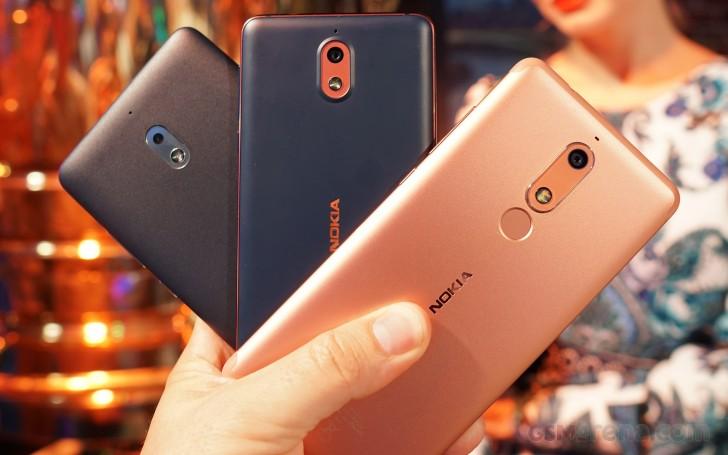 Nokia 5.1, Nokia 3.1, Nokia 2.1 kommen in Indien an