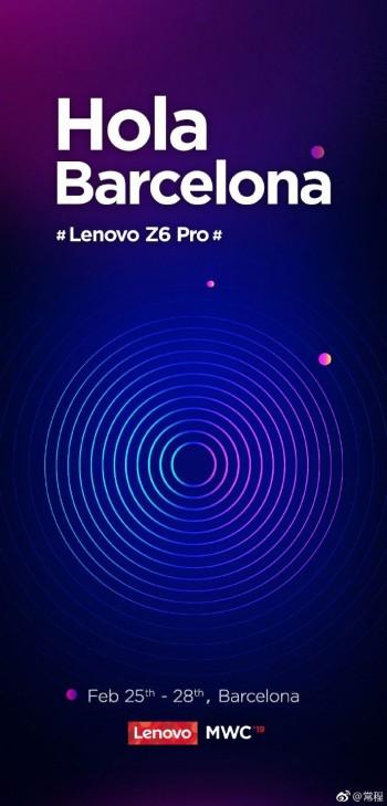 Lenovo Z6 Pro auf der MWC 2019 zu sehen