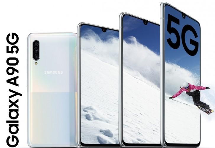 Samsung Galaxy A90 5G jetzt in China erhältlich