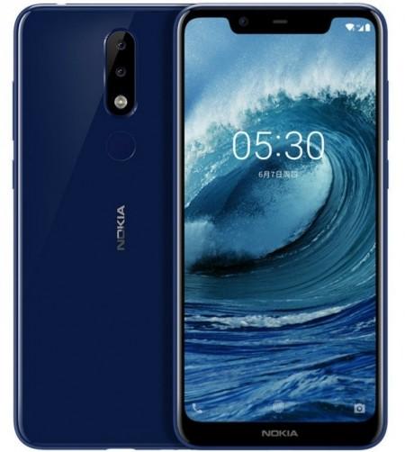 Nokia X5 jetzt offiziell mit Helio P60, Dual-Kameras und 84% Bildschirm-zu-Körper-Verhältnis