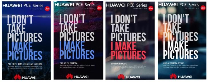 Huawei P11 Gerüchten zufolge drei Kameras auf der Rückseite für 40MP Snaps