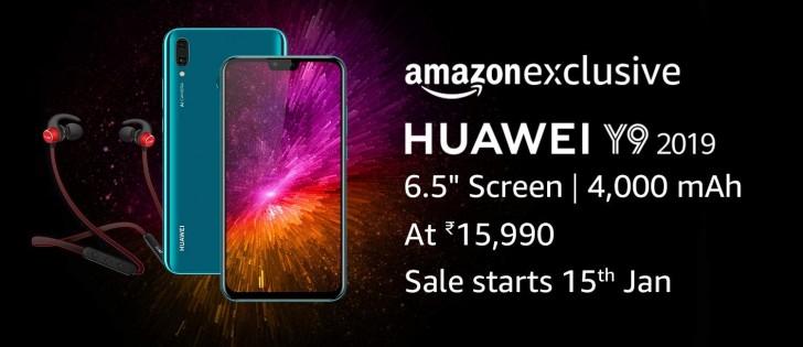 Huawei Y9 2019 kommt für $ 230 nach Indien