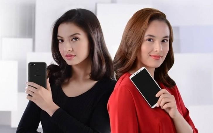 Oppo F5 erscheint in der Video-Werbung