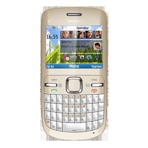 Entfernen Sie   SIM-Lock mit einem Code Nokia C3