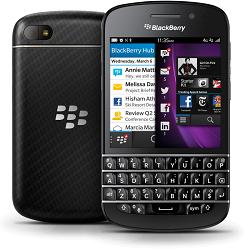 Entfernen Sie   SIM-Lock mit einem Code Blackberry Q10