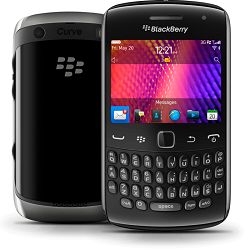 Entfernen Sie Blackberry SIM-Lock mit einem Code Blackberry 9350 Curve