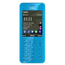 Entfernen Sie Nokia SIM-Lock mit einem Code Nokia 206