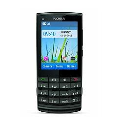 SIM-Lock mit einem Code, SIM-Lock entsperren Nokia X3 Touch and Type