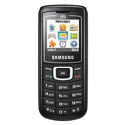 Entfernen Sie Samsung SIM-Lock mit einem Code Samsung E1107 Crest Solar